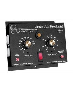 Green Air Products Synchronized Cooling Thermostat/Dehumidistat w/4 Outlets No Photosensor - Model CT-DH-3