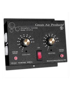 Green Air Products Independent Cooling & Heating Thermostat w/4 Outlets - Model CT-HT-2