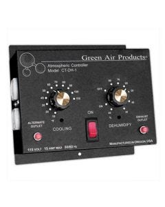 Green Air Products Integrated Cooling Thermostat & Dehumidistat w/ 4 Outlets - Model CT-DH-1