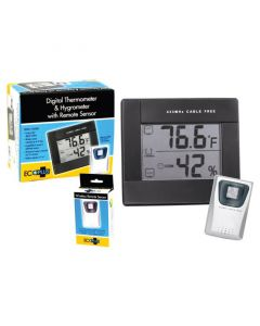 Grower's Edge Digital Thermometer/Hygrometer - Remote Sensor Only