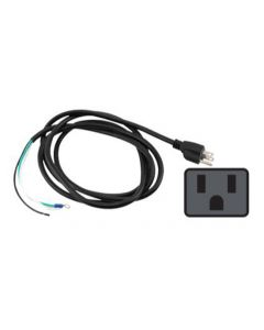 Power Cord 120 Volt 8 ft with Open Wires