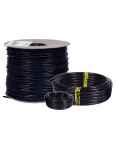 Black Raindrip Poly Tubing -- 1/4 inch - 50'