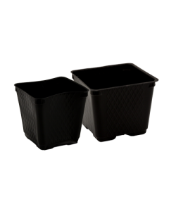 Traditional Square Pots - Blow Molded -- 3.5 inch