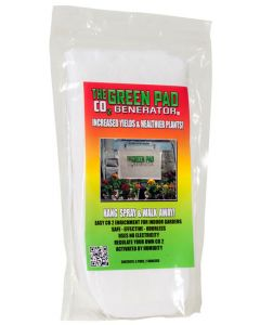 Green Pad CO2 Generator, pack of 5 pads w/2 hangers