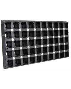Super Sprouter 50-Cell Square Plug Flat Insert Tray
