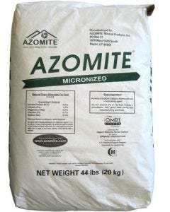 Azomite Micronized Natural Trace Minerals - 44 lbs