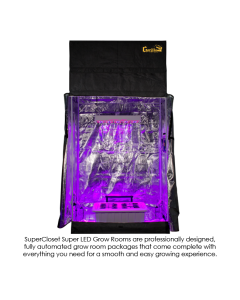 SuperCloset LED SuperRoom 2x4 Grow Room Package