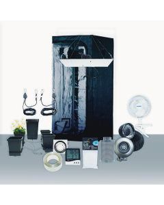 3' x 3' Grow Room 100W HLG 4K LED Hydro Complete Grow Tent Package