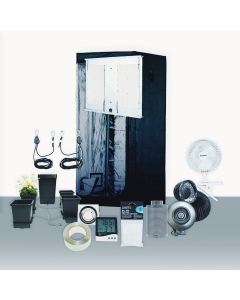 3' x 3' Grow Room 300W 3K HLG LED Hydro Complete Grow Tent Package
