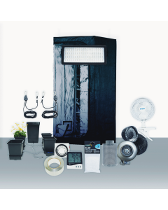 3' x 3' Grow Room 530W PLS LED Hydro Complete Grow Tent Package