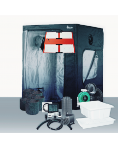 5' x 5' Grow Room 550W HLG 3KR LED HydroFlood Complete Grow Tent Package