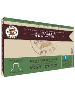 """True Liberty 4 Gallon """"Goose"""" Bags 18 in x 24 in (100/pack)"""