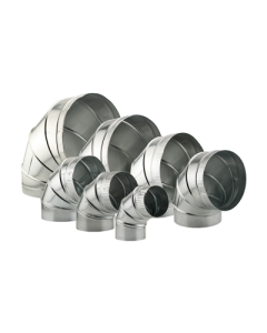 Ideal-Air Adjustable 90º Elbow Ducting