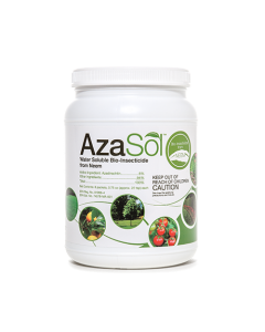 AzaSol Container 6 oz - Neem Based Water Soluble Powder