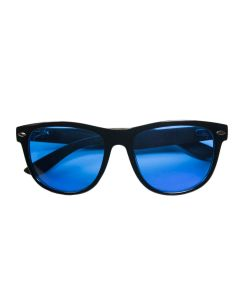 Summer Blues Optics - Black Frames, Ebony Bamboo Arms | HPS