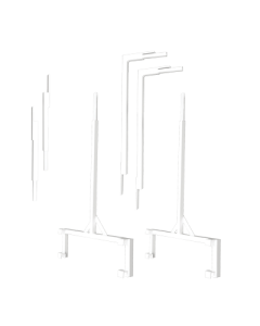 Fast Fit Light Stand Uprights 4 ft