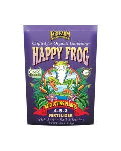 FoxFarm Happy Frog Acid Loving Plants Fertilizer 4-5-3