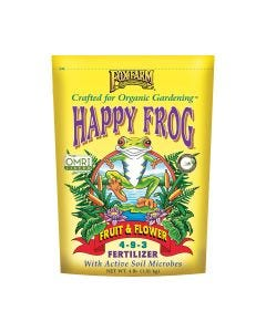 FoxFarm Happy Frog Fruit & Flower Fertilizer 5 - 8 - 4