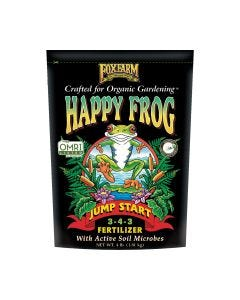 FoxFarm Happy Frog Jump Start Fertilizer 3-4-3, 4 lb bag