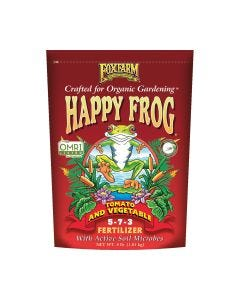FoxFarm Happy Frog Tomato & Vegetable Fertilizer 5-7-3