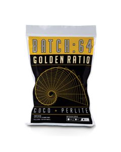 Batch:64 Golden Ratio - Coco and Perlite Media- 2 Cubic Feet