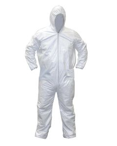 Growers House Polypropylene Hooded Grow Room Coverall Suit - 25 Pack