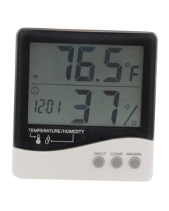 Grower's Edge Large Display Thermometer & Hygrometer