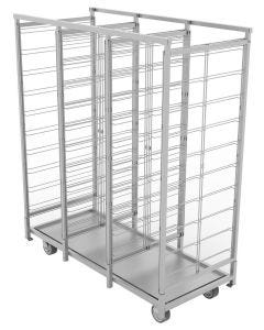 VRE Systems DryMax 30 2.0 - Mobile Dry Rack Cart (stainless steel)