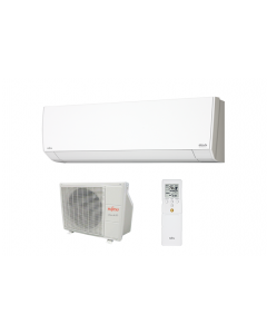 Fujitsu - 9k BTU Cooling + Heating - RLF Wall Mounted Air Conditioning System - 23.0 SEER