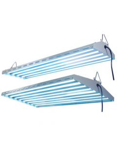 New Wave T5 HO Fluorescent Light Fixture - 4 Lamp - 48 inch (Lot of 100)