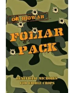 OG Biowar - Foliar Pack - Beneficial Microbes for Edible Crops
