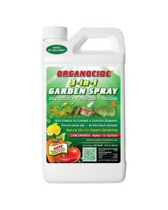 Organocide 3-In-1 Organic Insecticide -- Concentrate Quart