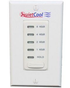 QuietCool 8 Hour Electronic Timer with Hold