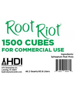 Hydrodynamics Root Riot Replacement Cubes - 1500 Cubes
