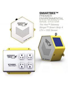 SmartBee Premier Environmental Base System (The Hive + LTH Pro sensor + Smart Strip 4)