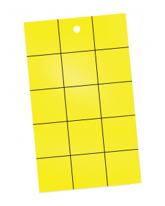 Catchmaster Pest Monitor Sticky Cards - 72 pack - Yellow