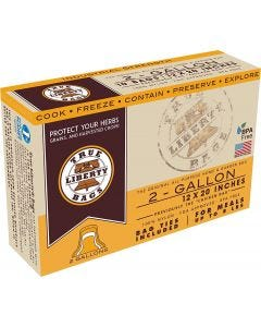 """True Liberty 2 Gallon """"Chicken"""" Bags 12 in x 20 in (10/pack)"""