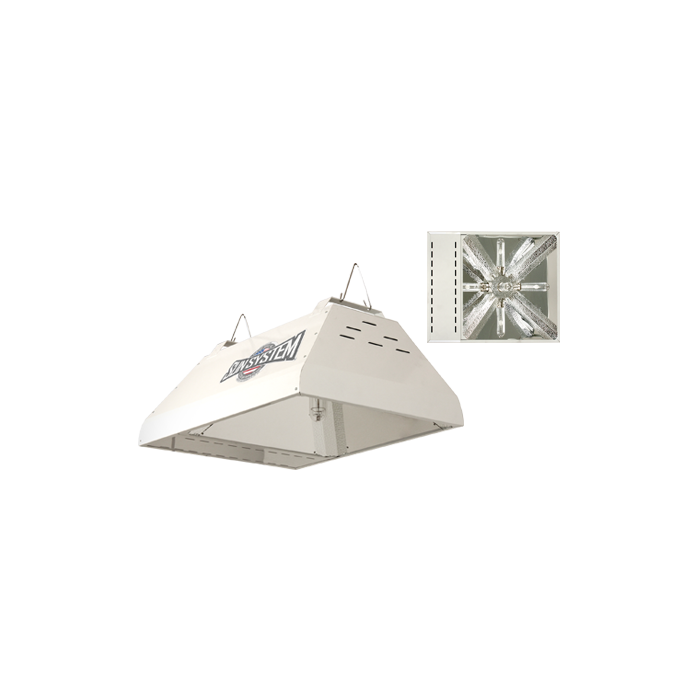 Sun System Lec 315w Cmh Ceramic Mh Light Fixture 120v 3100k Direct From Growers House