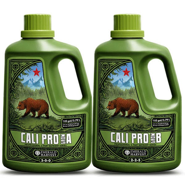 Emerald Harvest Cali Pro Grow A and amp B 6 Gallons