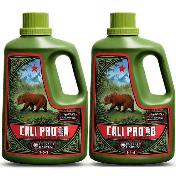 Emerald Harvest Cali Pro Bloom A and amp B 6 Gallons