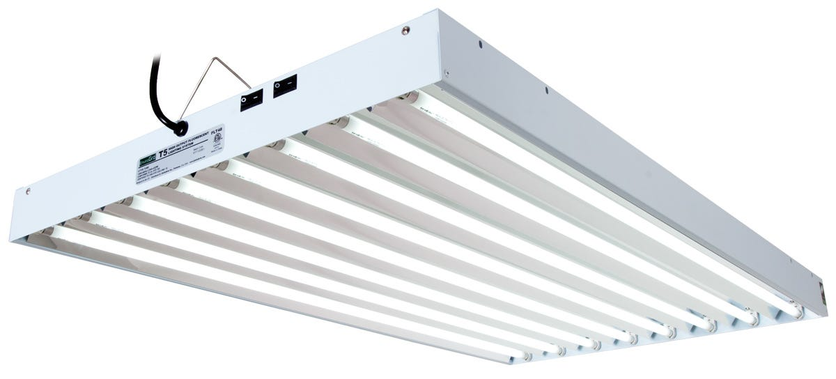 EnviroGro T5 4FT 8 Tube Fixture w/ Bulbs for Sale - Reviews, Prices ...
