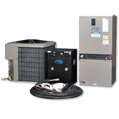 Excel Air Stealth Series 4 Ton 48,000 BTU tr { text-align: center; font-family: Verdana, Geneva, sans-serif; } td { color: #000; } body table tr { font-size: 12px; } Stealth Series - Seriously Quiet for Serious Growers The Stealth Series Air Cooled Air Conditioning unit is Excel's newest product. It's all in the name; the Stealth Series is based on a Triple Split Design which allows for the compressor to be removed from the Outdoor Condensing Unit and placed in it's own sound deadened box, eliminating all compressor noise from the outdoors! The unit also comes with Plug and Play fittings making installations quick and simple. Plug And Play Plug and Play refrigeration fittings make air cooled units simple to install by yourself; without the need of a costly certified installer. Each refrigeration line is pre-charged with the correct amount of refrigerant for your system. Just thread the fittings together and startup your system! The fittings are re-sealable unlike the generic units on the market, meaning, if you need to take your system out for servicing or relocating your unit no refrigerant is lost and can be simply reconnected. Package Contains Outdoor Condensing Unit Indoor Air Handler Sound Deadened Box 40ft Pre-Charged Refrigerant Piping Programmable Digital Thermostat w/ Pre-Wired 15ft Control Wire 40ft 18/2 Control Wire PVC Drain Trap Step By Step Manual & Wiring Diagrams Key Benefits Re-Sealable Plug and Play Fittings All fittings are Brass (Rust Free) Low Ambient Control on Outdoor Condenser Vertical or Horizontal Mounting Super Quiet Operation Industries best support! Ozone Friendly R-410a refrigerant 13 SEER rating Stealth Installation Instructions & Diagram Stealth Package Specifications PACKAGES SPECS DIMENSIONS SEALED ROOM TON BTU'S AMPS WEIGHT AIR HANDLER CONDENSER # OF LIGHTS (1000W) 2.0 24,000 12.8 300 18X22X46 24X24X28 6 3.0 36,000 18.7 375 18X22X46 29X29X28 9 4.0 48,000 23.2 500 25X22X57 29X29X30 12 5.0 60,000 33.7 550 25X22X57 34X34X32 15 Recomme