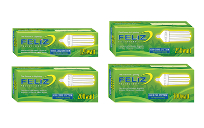 Feliz Fluorescent Grow Lamp - 300W Blue 6500K