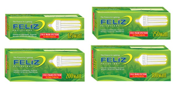 Feliz Fluorescent Grow Lamp - 125W Red 2700K