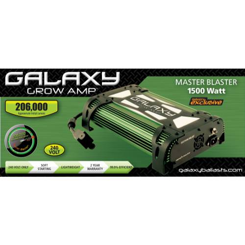 Galaxy Grow Amp Master Blaster 1500W Electronic Ballast 240V DISCONTINUED