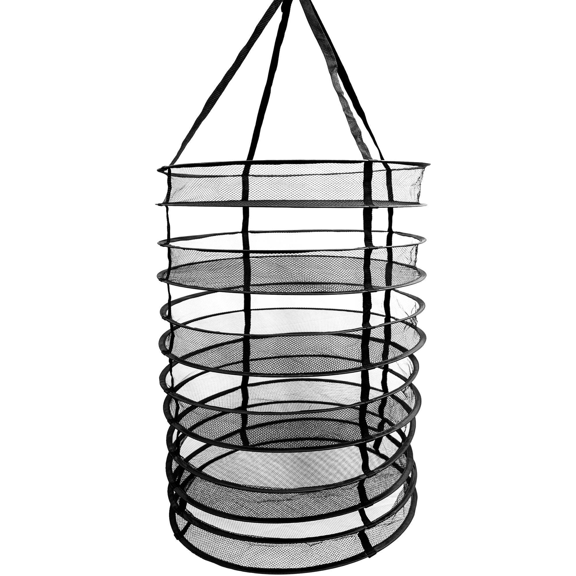 Photograph of Common Culture 24in Collapsible Hanging Herb Drying Rack System