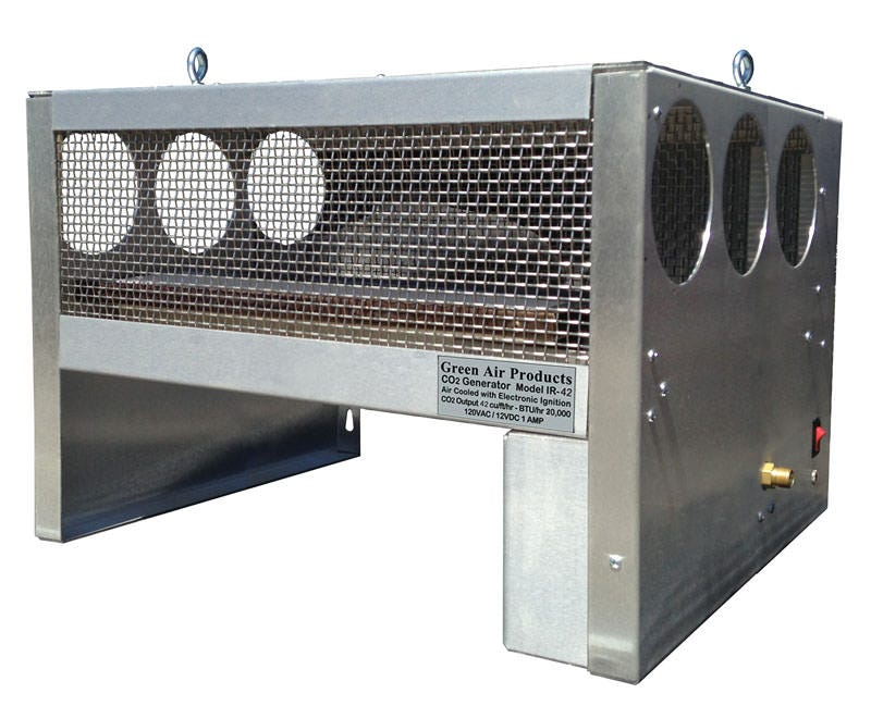 Photograph of Green Air Products - Multi-Fuel Infrared CO2 Generator IR-42-MF