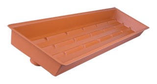 Tray for Quantum Moisture Mat 10in x 38in x 2 1/2in