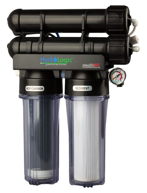 Hydro-Logic Stealth RO 200 GPD and amp KDF Carbon Filter