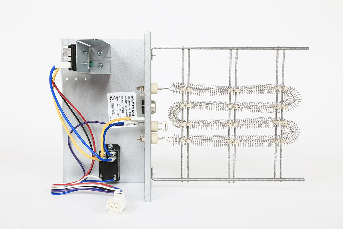 ideal-air electric heat strip without circuit breaker 5 kw 208 / 230 volt |  direct from growers house